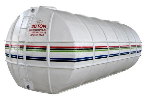 Flat Bottom Cylindrical Water Depot Tanks
